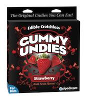 Crotchless Gummy Undies For Men