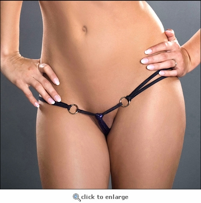 Crotchless Panty Strings & Rings T016
