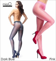 Miss O Colorful Crotchless Pantyhose 20 Denier