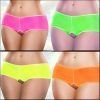 Crotchless Short Neon Brights