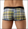 Digital Plaid Enhancer Short
