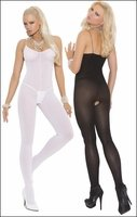 Bodystocking Crotchless Opaque