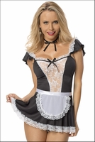 Chamber Maid Costume Lingerie Set
