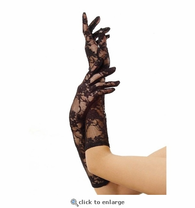 Gloves Lace Elbow Length