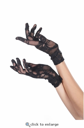 Gloves Lace Wrist Length