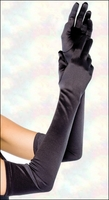 Gloves Stretch Satin Opera Length