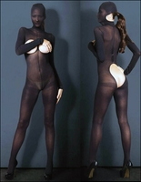 Kink Cupless Bodystocking with Hood