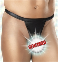Men's Crotchless Open Rear Underwear