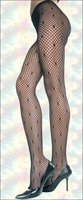 Patterned Net Tights Seamless Mesh Star