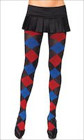 Argyle Multi Color Tights