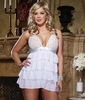 Plus Size Baby Doll Bridal Bliss