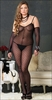 Plus Size Bodystocking & Gloves Daisy Lace #8254Q