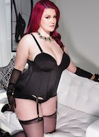Plus Size Bustier Zipper Front with Panty Options