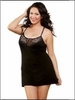Plus Size Comfy Chemise with Lace
