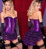 Plus Size Corset & Skirt Set