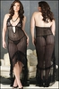 Plus Size Gown Crocheted Lace