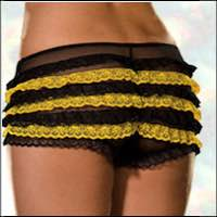 Plus Size Ruffled Panty Bumble Bee
