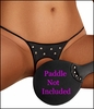 Queen Size Crotchless Panty BDSM Theme