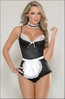 Serving Maid Teddy Lingerie Set