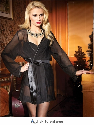 Sheer Robe from Coquette Lingerie