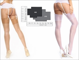 Miss O Sheer Stockings with Shimmer