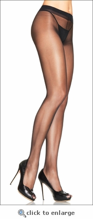 Sheer To Waist  Lycra Pantyhose No Cotton Crotch Panel