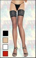 Thi-High Stockings Wide Lace Tops