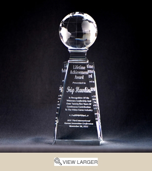 Globe Crystal Award