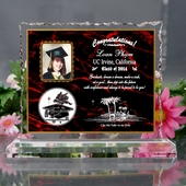 Graduation Personalized Acrylic  AGD724-CL