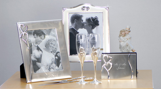 Engraved Wedding Accessories