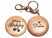 Key chain Happy Birthday
