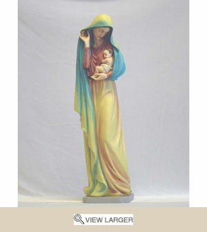 Madonna with Holy Child Italian Statue
