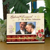 Mr. & Mrs. Wedding Personalized Photo Frame