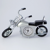 Novelty Mini Motorcycle Clock