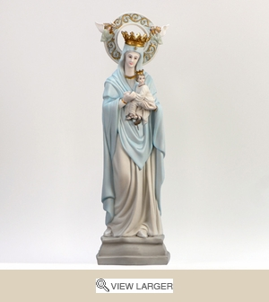 Our Lady of Perpetual Help Italian Statue