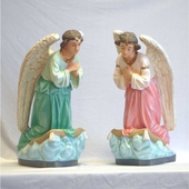 Pair of Kneeling Angels Statues-Out of Stock