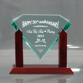 Personalized Vietnamese Gem Anniversary Keepsake