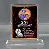 Personalized Anniversary Acrylic