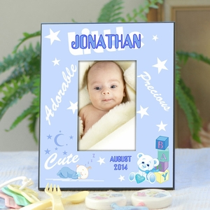 Personalized baby picture frame for boys whats new personalized baby picture frame for boys negle Choice Image