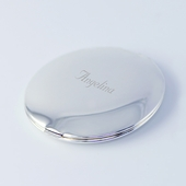 Personalized Classic Round Mirror Compact