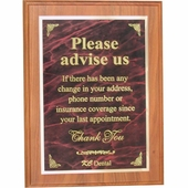 Personalized Dental Advise Plaque