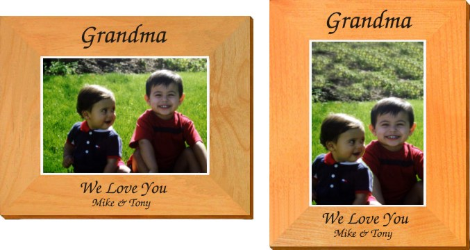 Personalized Design Your Own Picture Frame - Gifts for Grandma