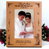 Personalized Frame for Wedding