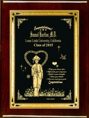 Personalized Goals Graduation Plaque