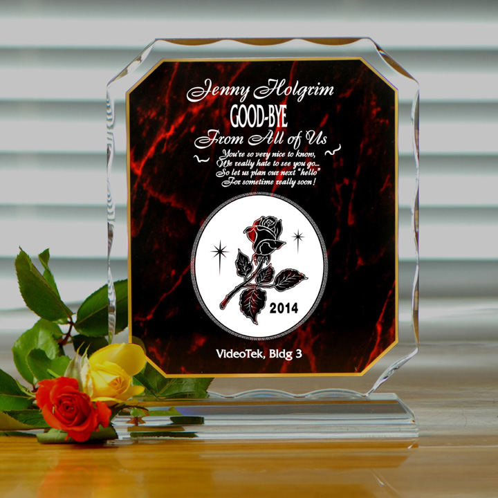 Personalized Goodbye Amp Good Luck Gift Farewell Gifts