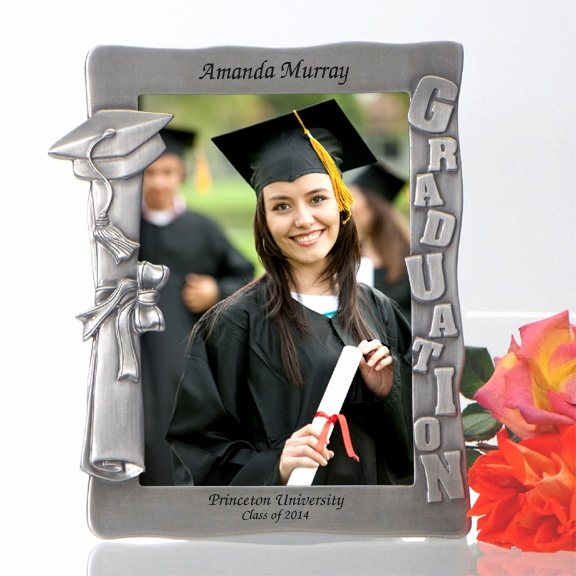 Personalized Graduation Pewter Photo Frame - Picture Frames