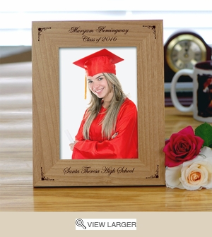 Personalized Graduation Photo Frame w/ Designs