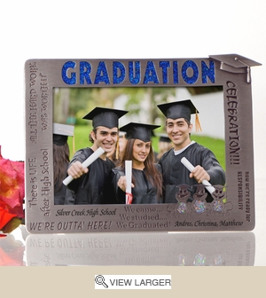 Personalized Graduation Phrases Picture Frame