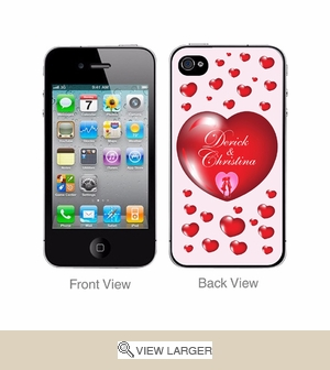Personalized iPhone Cover for Lover