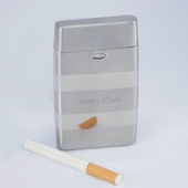 Personalized Matte and Shine Cigarette Case